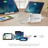 Blitwolf 40w 5 poort charger white examples and specs