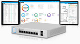 Ubiquiti Unifi Managed PoE+ Gigabit Switch met SFP, US-8-150W