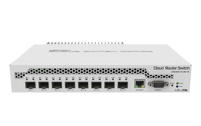 MikroTik CRS309-1G-8S+IN - Cloud Router Switch 309-1G-8S+IN -800 MHz - 8 x 10Gbit