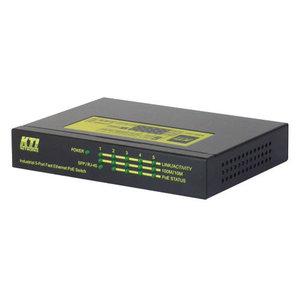 KTI Solutions KS3004 (Industriële unmanaged 10/100 Mbps)