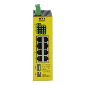 KTI Solutions KS4000 (Industriële 8 poorts unmanaged Gigabit Ethernet Layer 2 Switch)
