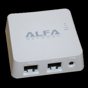 Alfa AIP-W512 Wireless Cube Router 150mbps
