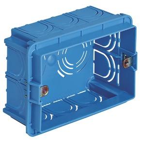 5x Wanddozen 3M licht blauw