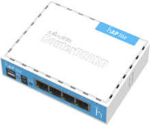 MikroTik RouterBoard RB941-2nD - hAP Lite 650MHz CPU, 32MB