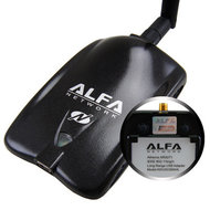 ALFA AWUS036NHA 630 mW 802.11b/g/n USB WLAN Adapter U-Mount Set